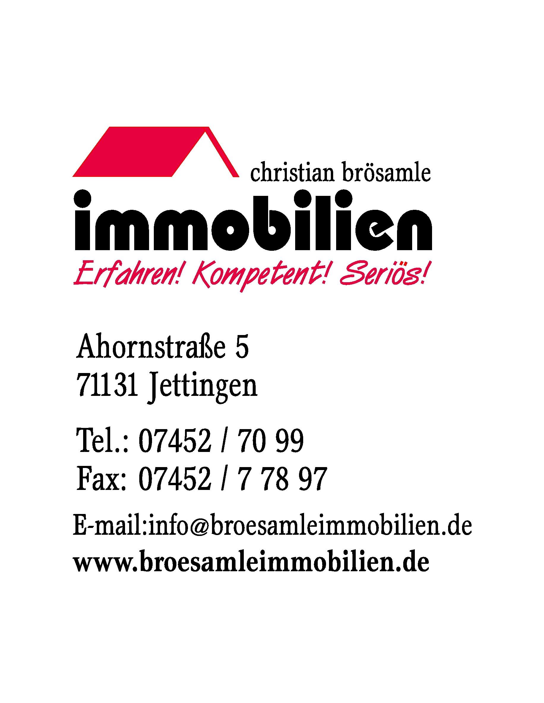 Christian Brösamle Immobilien-Baubetreuung