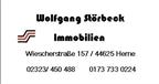 Wolfgang Störbeck Immobilien