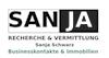 SANJA Schwarz RECHERCHE & VERMITTLUNG Businesskontakten & Immobilien