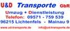 U&D - Transporte GBR